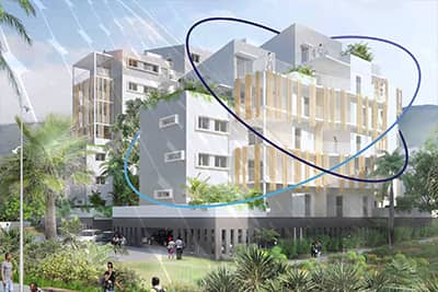 Bâtiment connecté utilisant la technologie Sigfox