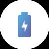 Icone d'une Batterie présentant l'IoT avec Sigfox