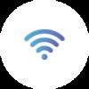 Icone du réseau présentant l'IoT avec Sigfox