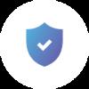 Icone d'un bouclier présentantla sécurité de l'IoT avec Sigfox